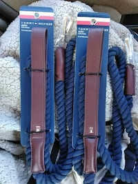 two brown Tommy Hilfiger leather belts Huntsville, 35816