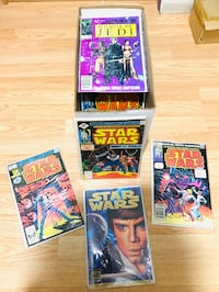 Vintage Starwars Comics from the 70s and 80s, includes 81 issues
