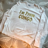 grey Im from congo long-sleeved shirt Gatineau, J9A