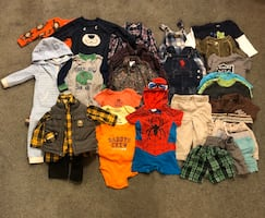 12 mo - 18 month old boy clothes