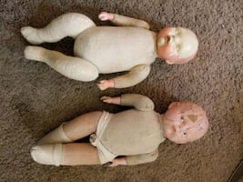 Vintage/Antique baby dolls. Collectables