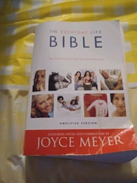 Joyce Myer Bible and several other bools