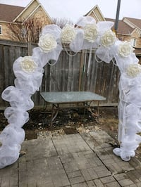 Wedding arch for rent or sale Mississauga, L5M 0A5