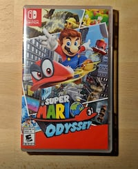 Switch Game Mario odyssey  Pharr, 78577