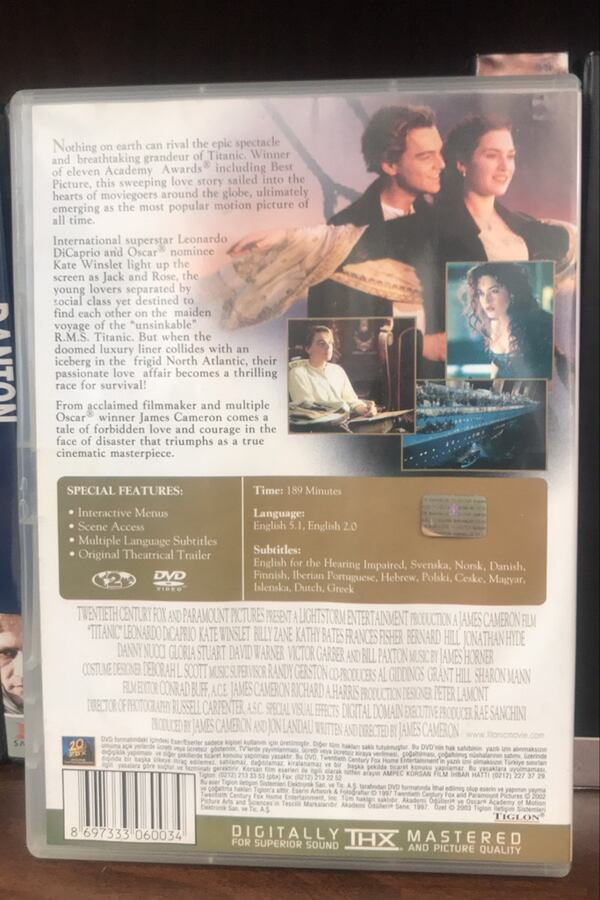 Titanic DVD Film 1
