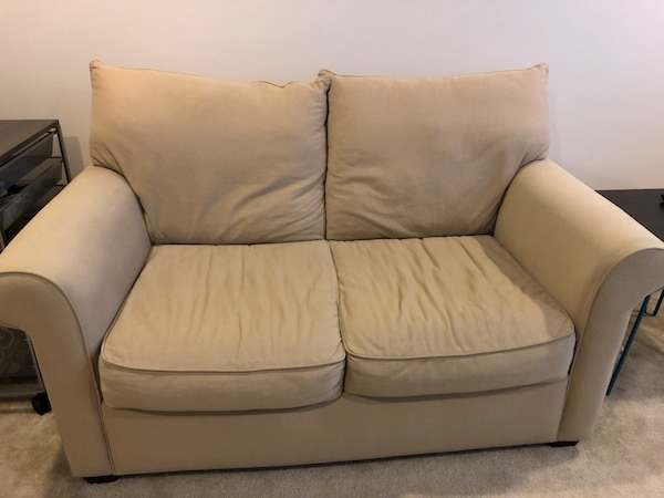 Beige Loveseat From Haverty S