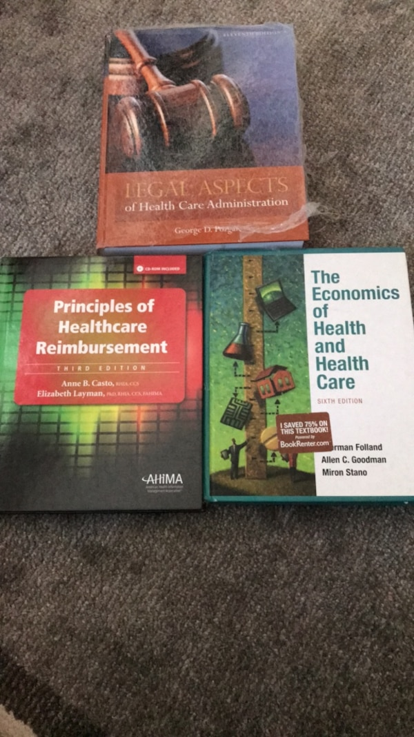 healthcare books
