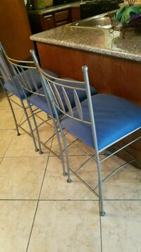 blue and gray metal folding chair Laguna Hills, 92653