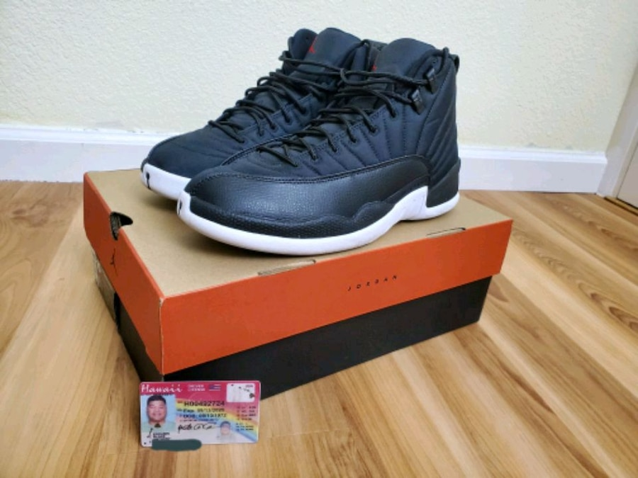 Photo *Jordan Retro 12 Neoprene* Size 10* Used once 9/10 Condition*