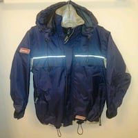 LIKE NEW: Coleman YOUTH small Windbreaker rain jacket   - youth small  Edmonton, T6X 1J9