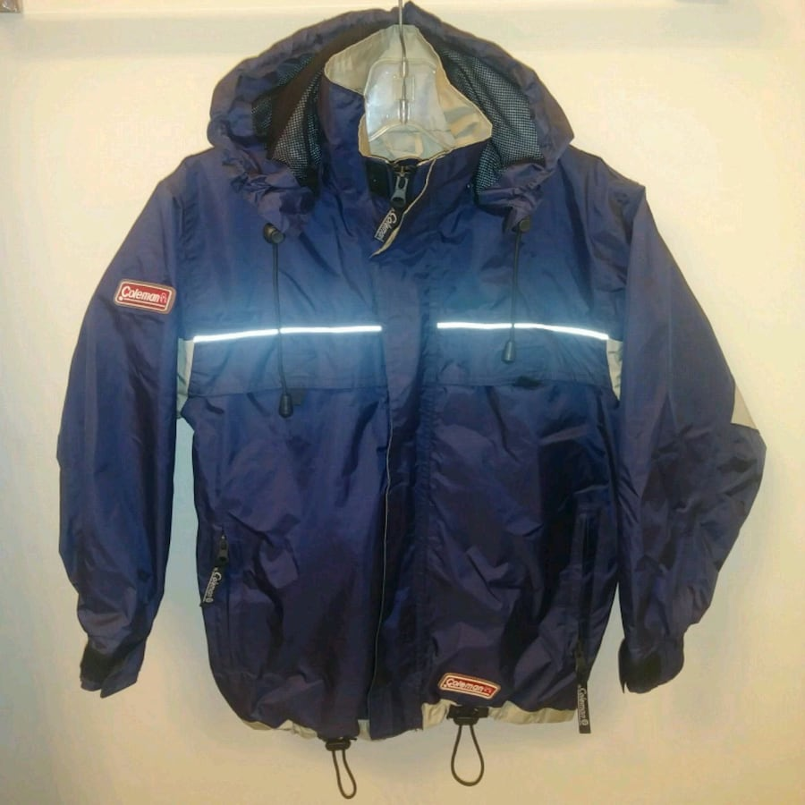 LIKE NEW: Coleman YOUTH small Windbreaker rain jac
