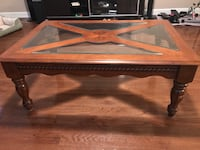 rectangular brown wooden coffee table Centreville, 20120