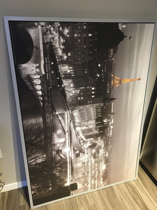 Large Hanging Picture (Eiffel Tower, Paris) 1