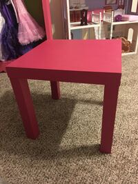 Girls pink cheap table
