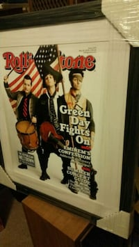Framed Enlarged Rolling Stone Covers Mesa, 85201