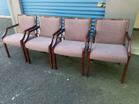 4 MATCHING OFFICE CHAIRS Bel Air, 21014