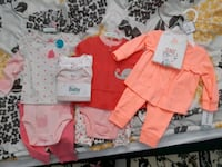 BNWT 3 month girl outfits  Toronto, M8Z