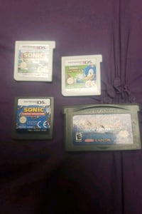 Ds games and advance games