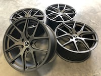 "18"" R02 new wheels gunmetal (MERCEDES CARS) Calgary, T3N 1A6"