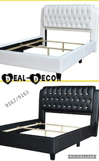 Black or White Leather Bed  532 mi