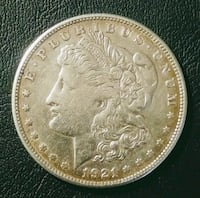 1921S Silver Morgan Dollar Chesapeake, 23320