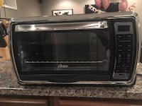 black and silver Oster microwave oven Fairfax, 22032