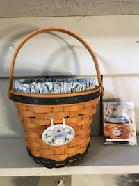 Longaberger Daisy Basket 1999.Protector,Liner,and Tie on Martinsburg, 25404