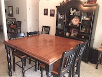 Wooden table and buffet w/8 chairs Thousand Oaks, 91320