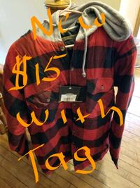 New Hooded Flannel  Mayville, 53050