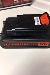 Black n decker lithium 1.5 AH battery Alexandria, 22303