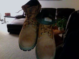 Timberland Roll Up Camo (green) size 11 mens