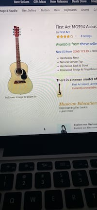 First act acoustic guitar for beginners Toronto, M3J 2N9