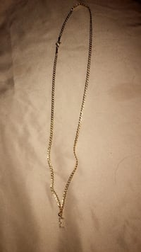 Gold chain with diamond pendant  North St. Paul, 55109