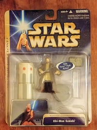 2004 Never Opened Star Wars Obi-Wan Kenobi action  Frisco
