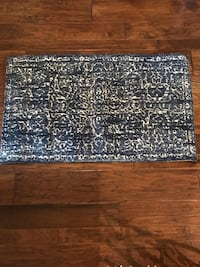 Magnolia Home Lotus Collection By Joanna Gaines Blue/Cream Area Rug Katy, 77494