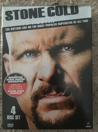 WWE Stone Cold The Bottom Line DVD Set Calgary, T3M 0C6