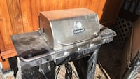 Stainless steel and black gas grill Kelowna, V1X 6Y2