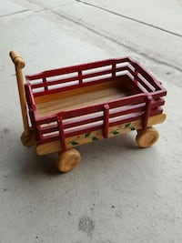 wooden red wagon New Jersey, 08322