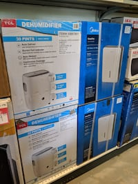 BRAND NEW DEHUMIDIFIERS CLEARANCE