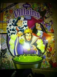Look and find bldisney villains book London, N5W 2Y8