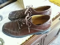pair of brown leather dress shoes Toronto, M4L 1Y7