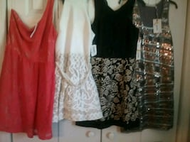 New dresses size small.  I have 7 sequins