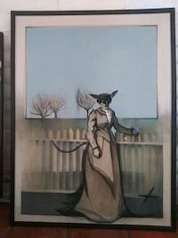 painting of a donkey in disguise Albuquerque