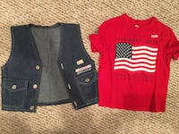 2T toddler girl summer clothes 38 km