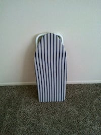 Small table top ironing board