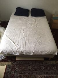 Ikea bed + matress 140x210vm
