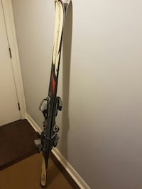 Rossignol skis with Marker M900 bindings