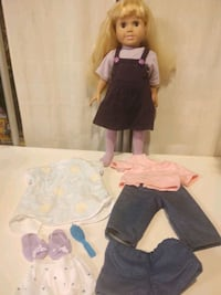 """FCM 18"""" Doll and More"""