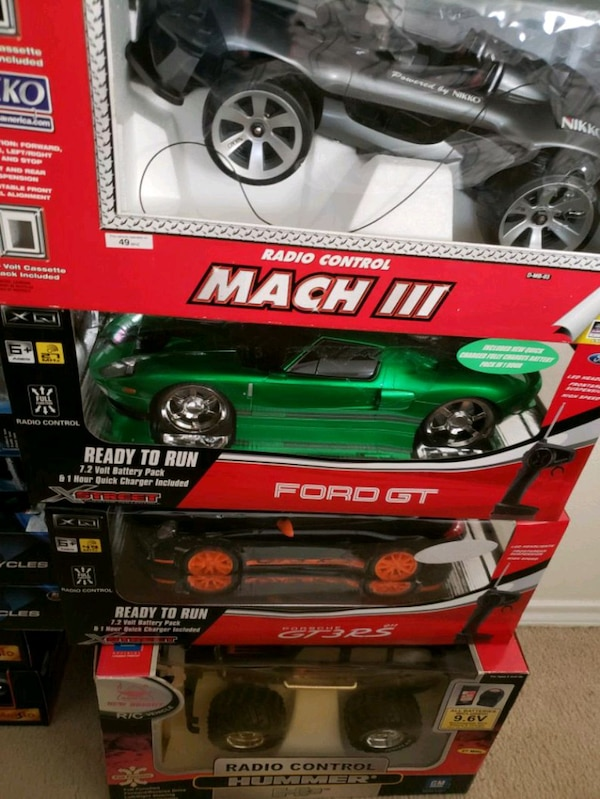 4 R/C CAR COLLECTION