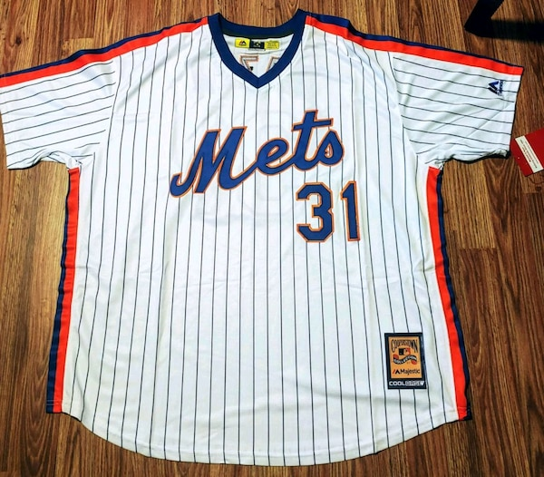 timeless design 51848 6ee11 Mike Piazza New York Mets Throwback Jersey